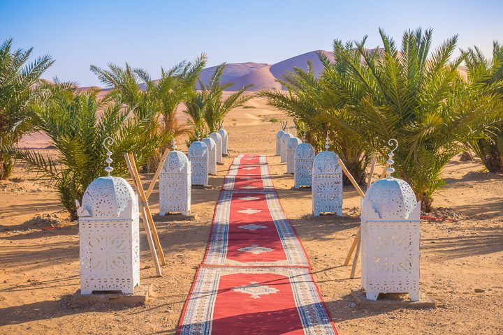 Morocco Bucket List: Spend a Night in the Sahara Desert!!! Take a sunset camel ride to a luxury camp deep in the dunes for the ultimate Sahara Desert experience.