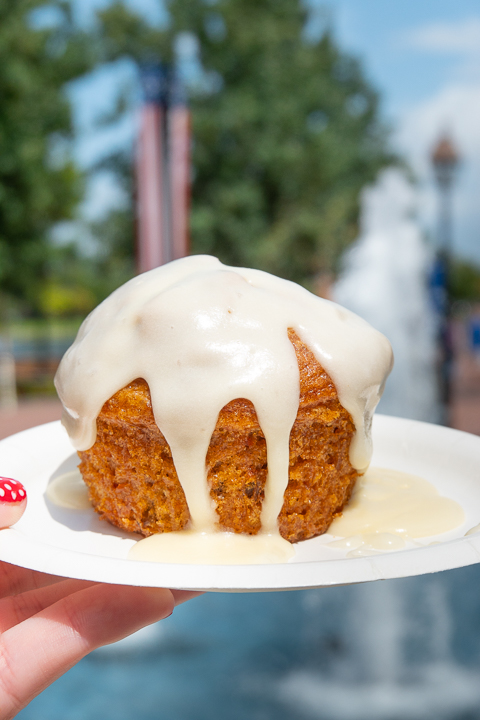 Carrot Cake at Epcot Food and Wine Festival