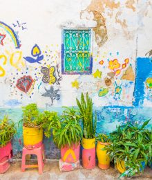 Asilah, Morocco is a funky, artsy seaside town in Morocco. Here's a photo tour of the medina and guide to the most beautiful, Instagram worthy spots.