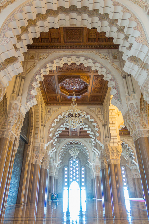 Inside the Hassan II Mosque - Things To Do In Casablanca Morocco - Morocco Travel Guide