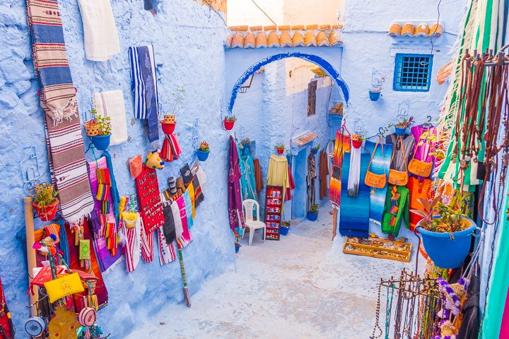 Chefchaouen: The famous blue city of Morocco!! Also known as the Blue Pearl. Here's everything you need to know about Chefchaouen... how to get there, where the famous blue streets are, where to stay, and what to do!