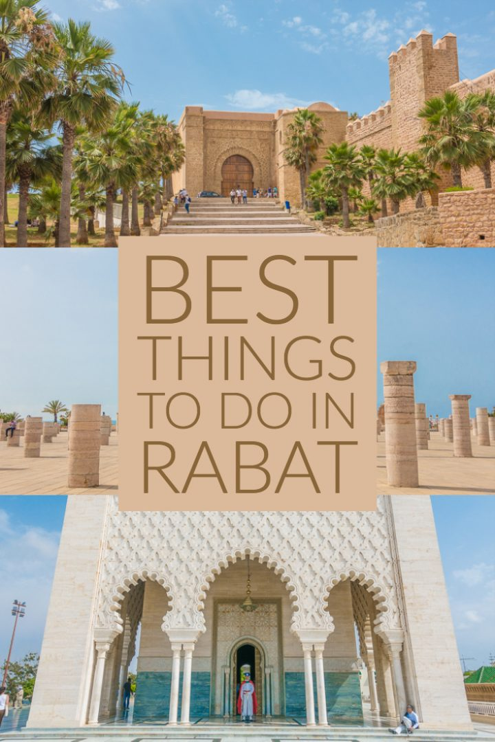 Planning a trip to Rabat, Morocco? Here are the BEST things to see and do in Rabat, and a guide to all the most beautiful, Instagram worthy spots in Rabat! Here's where to take the best photos in Rabat.