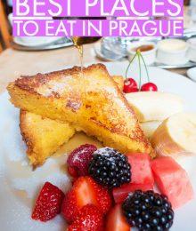 Prague Restaurants - Where To Find The Best Czech Food