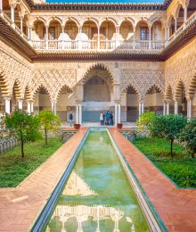 Royal Alcázar of Seville Spain