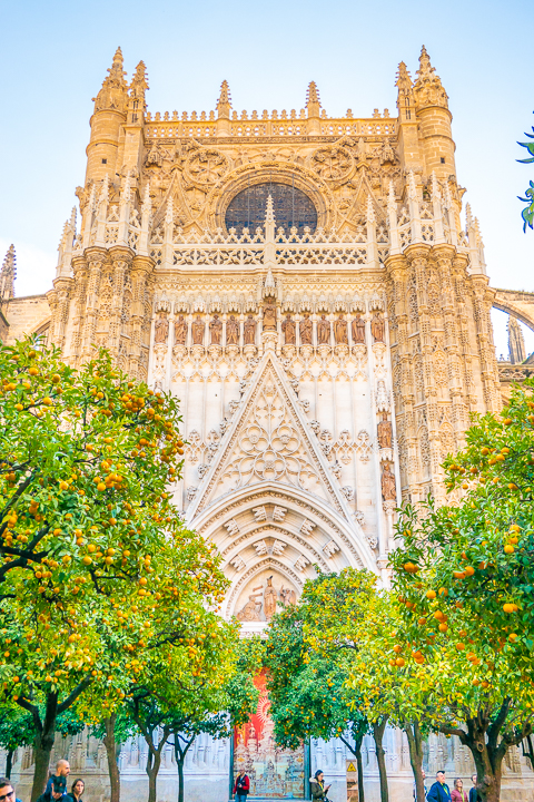 Catedral de Sevilla (Seville Cathedral) in Seville Spain