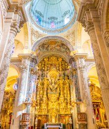 Church of the Divine Saviour in Seville Spain