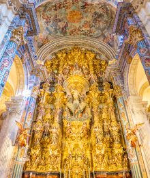 Church of the Divine Saviour in Seville Spain