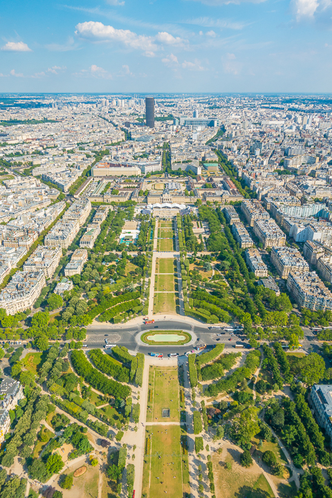 View from the Eiffel Tower — The BEST Things To Do In Paris If You Only Have One Day!!