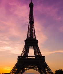 Sunset at the Eiffel Tower — The BEST Things To Do In Paris If You Only Have One Day!!