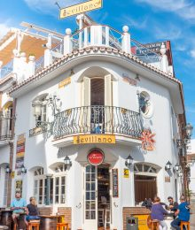 Restaurant in Nerja Spain