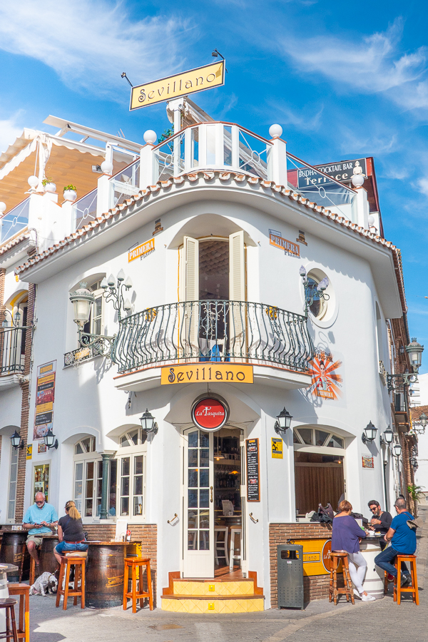 Sevillano Restaurant in Nerja Spain