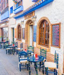 Restaurant in Nerja Spain