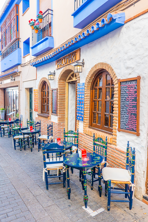 Pacomari Restaurant in Nerja Spain