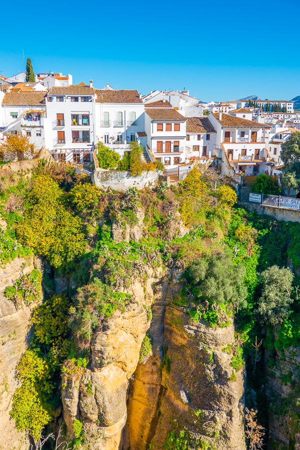 El Tajo Gorge in Ronda Spain