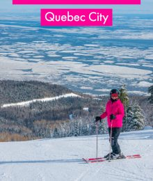 Ski Resort Quebec City Le Massif de Charlevoix