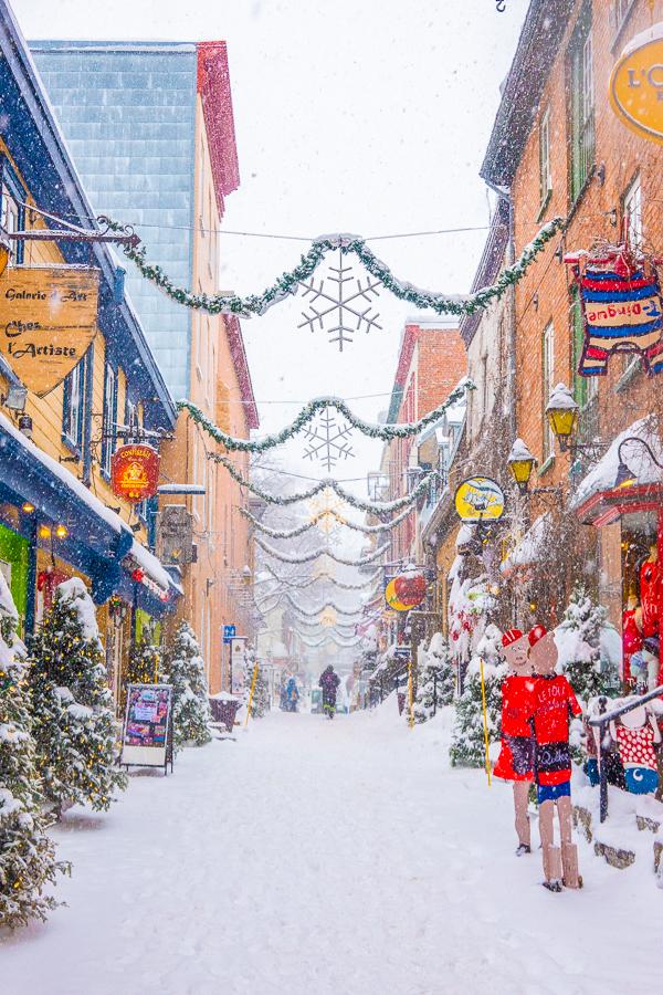 Petit Champlain Quebec City