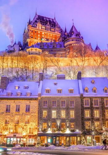 Chateau Frontenac Quebec City