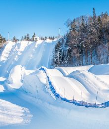 Snow Tubing at Ice Hotel Quebec