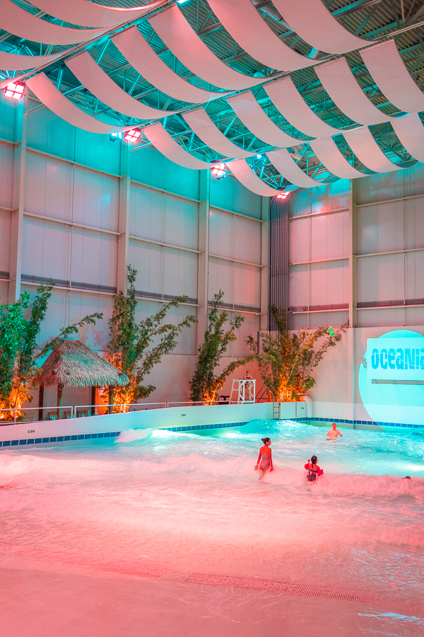 Indoor Water Park at Ice Hotel Quebec