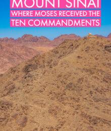 Tips for Hiking Mount Sinai