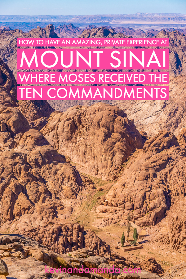 Tips for Hiking Mount Sinai
