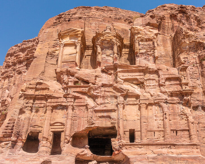 Petra Jordan Royal Tombs