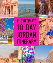 Jordan Travel Itinerary