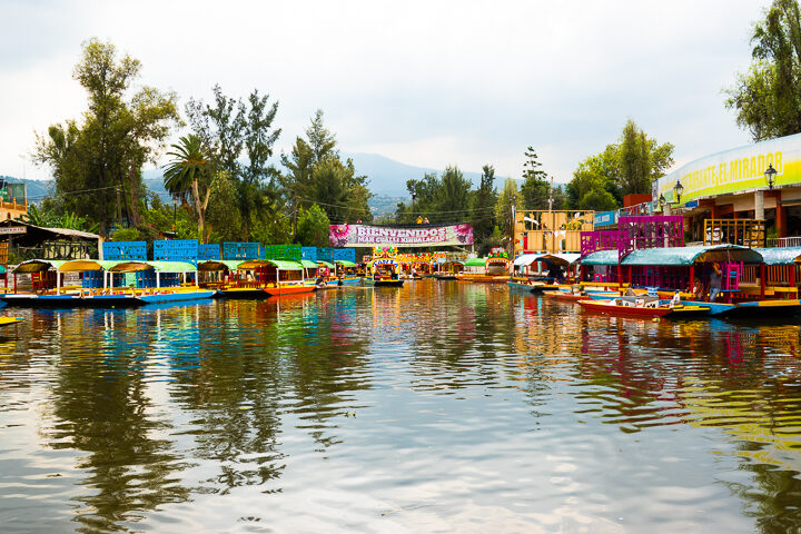 Trajineras Boat Ride Xochimilco Canals