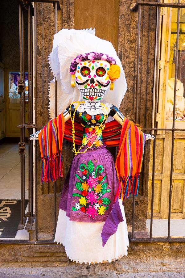 Day of the Dead Skull Catrina
