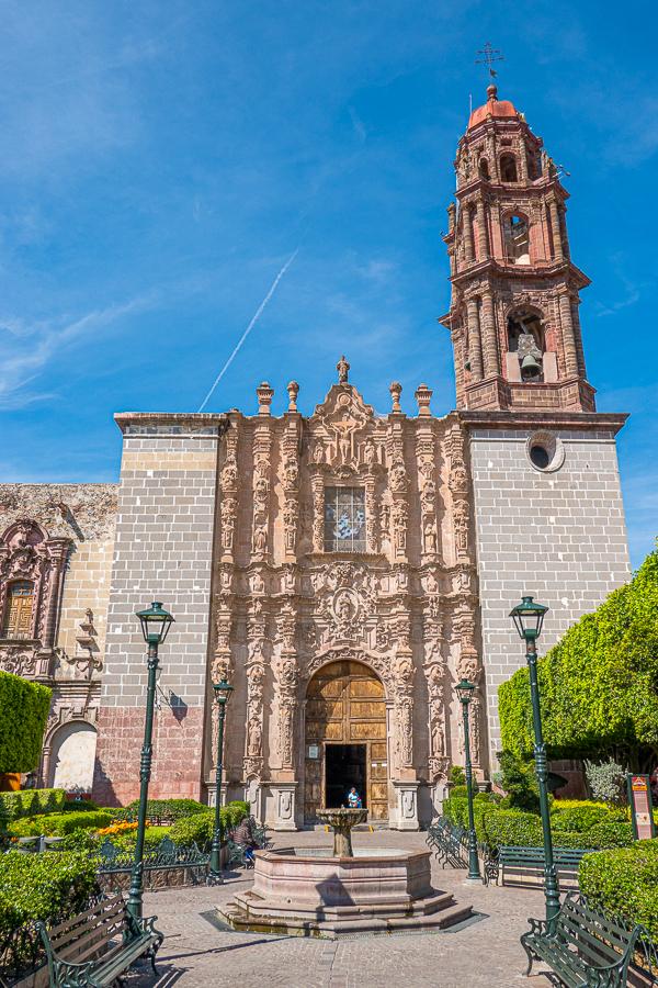 Templo de San Francisco in San Miguel de Allende
