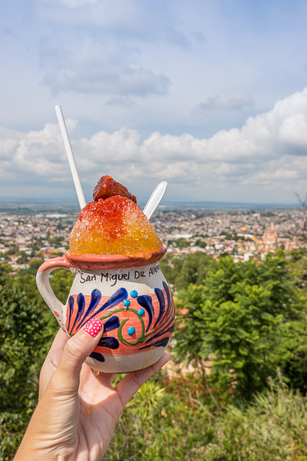 Shaved Ice in San Miguel de Allende