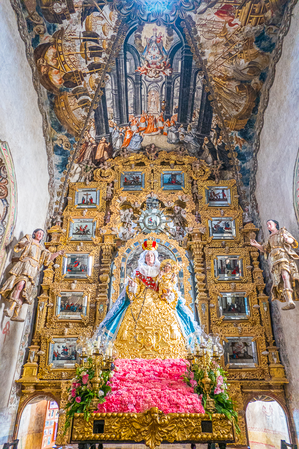 Sanctuary of Atotonilco Inside