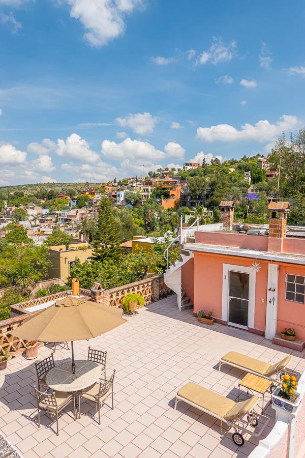 Rooftop Terrace in San Miguel de Allende