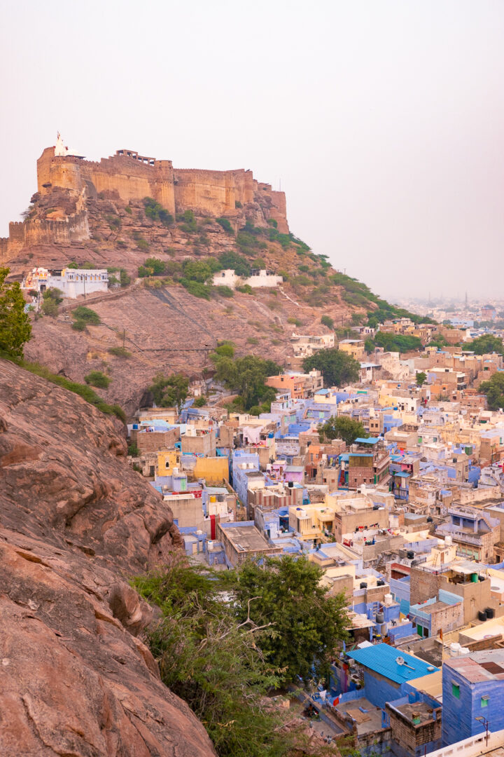 Scenic view of the city of Jodhpur, India