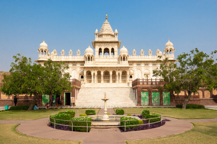Image of Jaswant Thada in Jodhpur, India