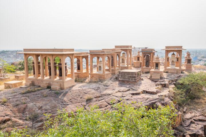 Memorials in Jodhpur, India