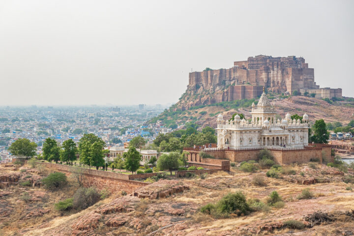 Beautiful view of the city of Jodhpur, India