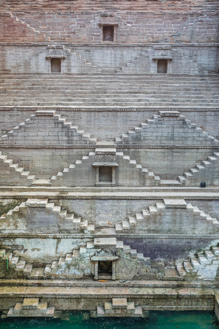 Photo of the Jodhpur Stepwell (Toorji-Ka-Jhalara)