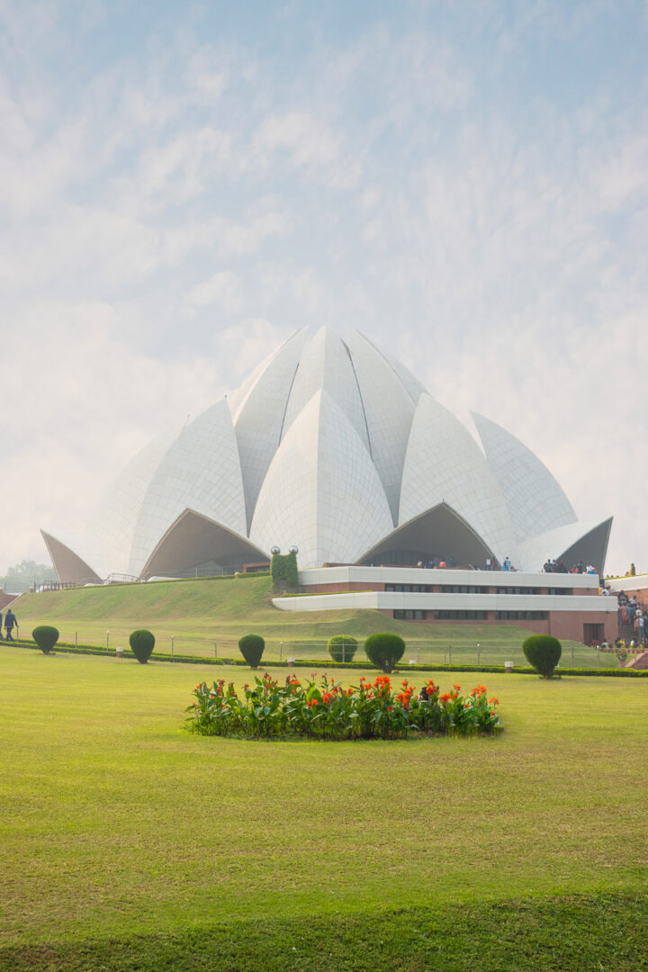 Bahai Temple AKA Lotus Temple in New Delhi