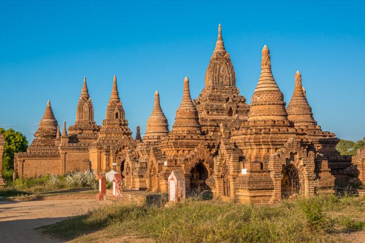 The Yin-ma-na-hpaya Temple in Bagan, Myanmar.