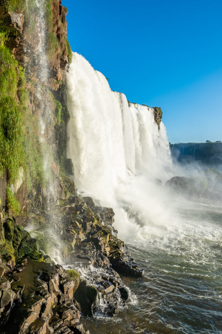 Photo of Iguazu Falls from Brazil.