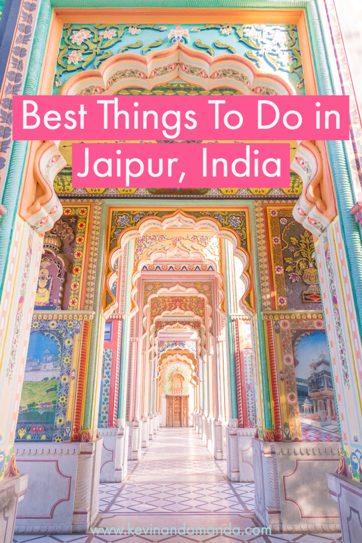 Pinterest image for the best things to do in Jaipur