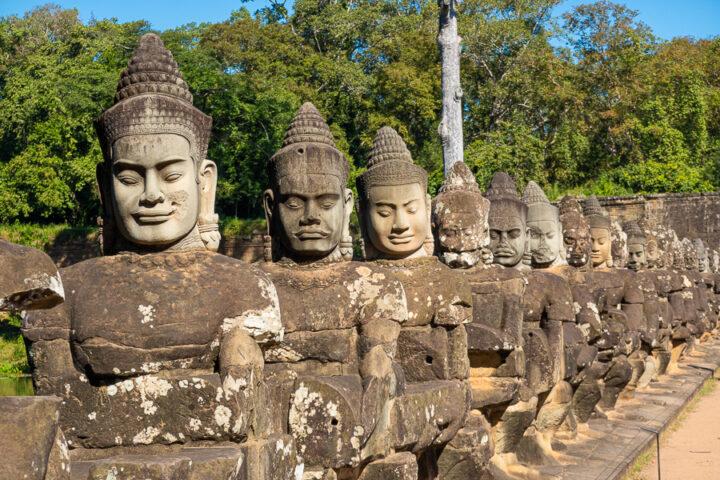 Bayon Temple, Angkor Thom Cambodia