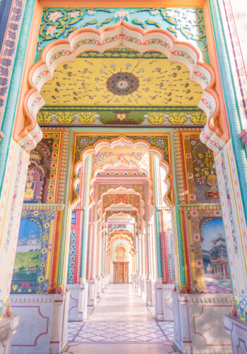 Colorful Gate in Jaipur India