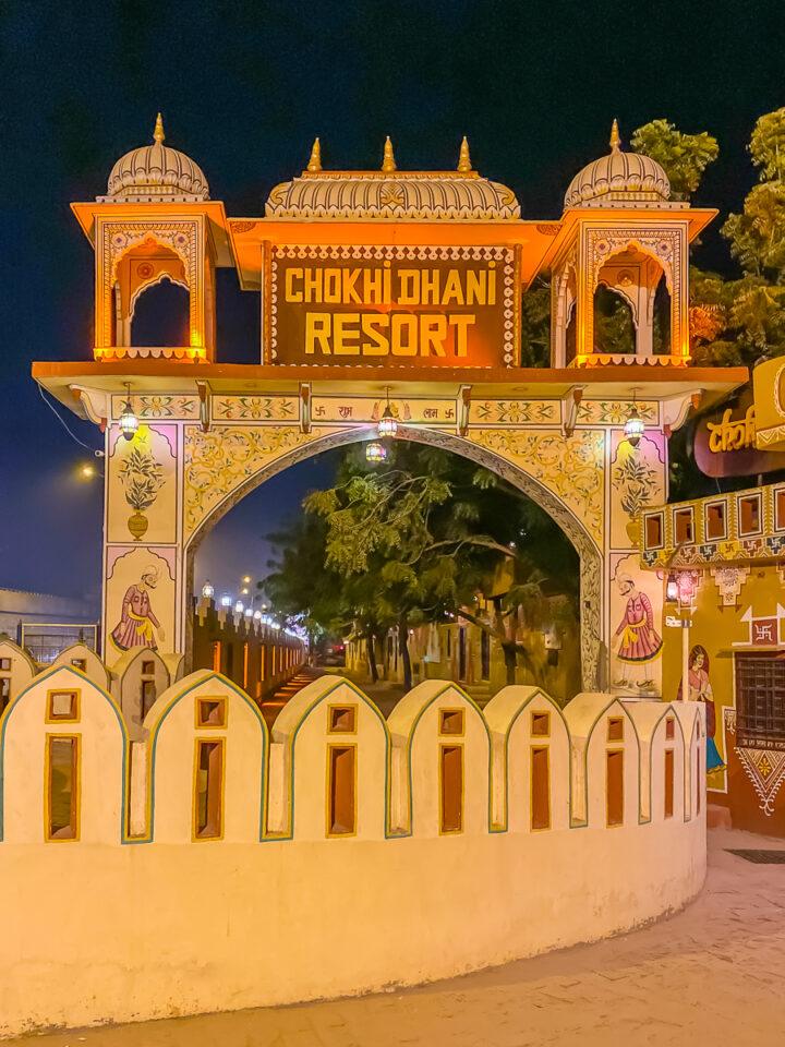 Chokhi Dhani Village in Jaipur, India
