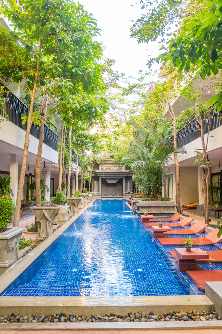 Pool at Golden Temple Retreat Siem Reap Hotels