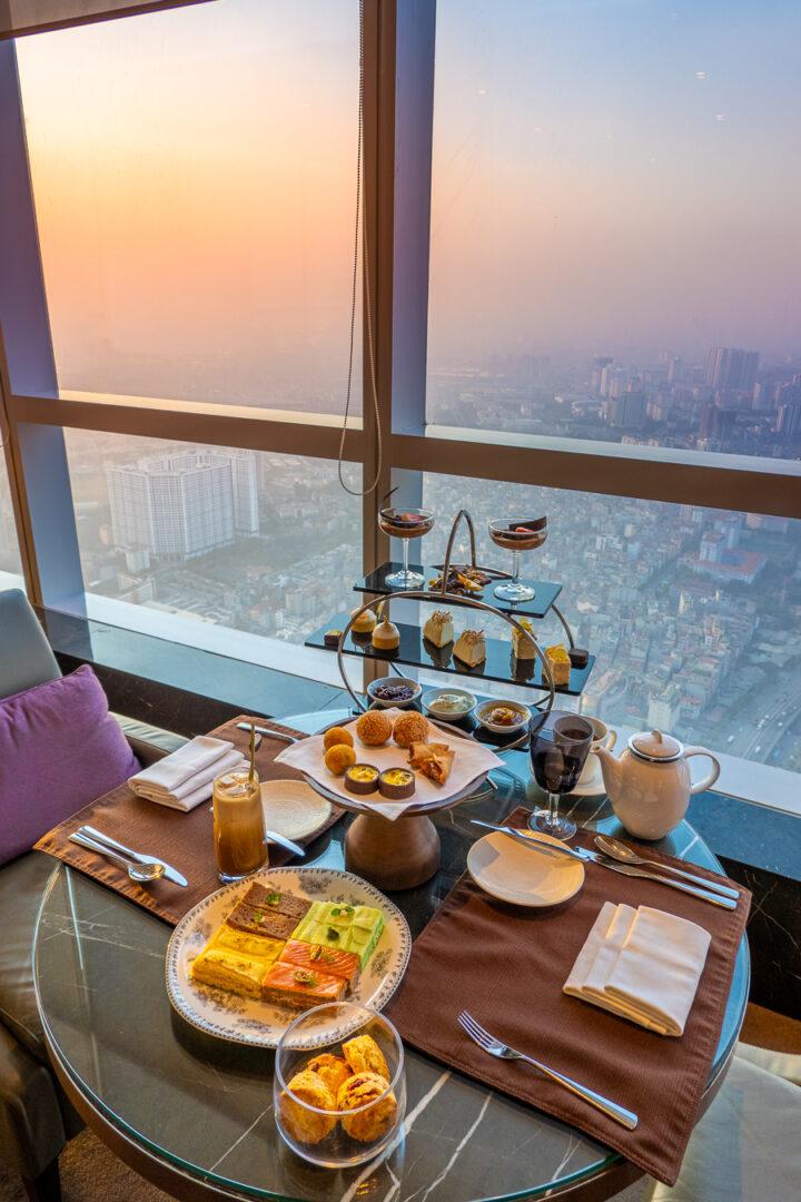 Afternoon Tea at InterContinental Hanoi Landmark72