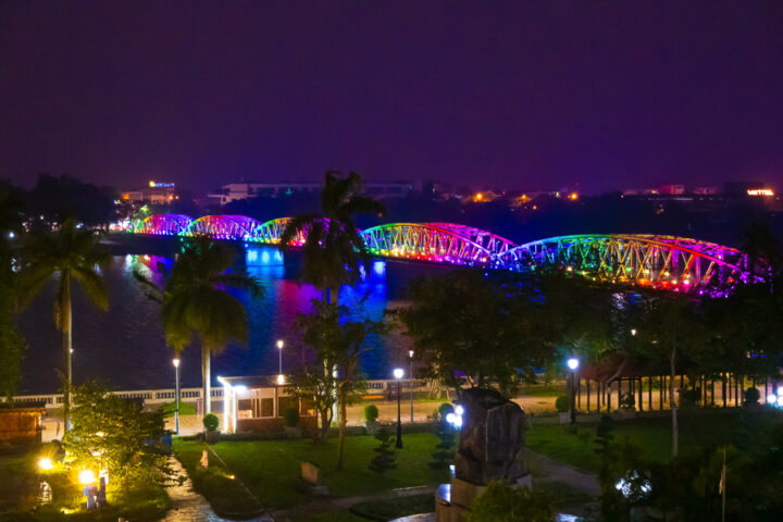 Rainbow Bridge in Vietnam