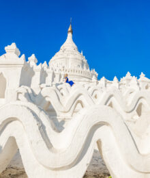 White Temple Myanmar - Mya Thein Tan Pagoda