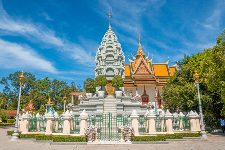 The Royal Tomb of The Royal Palace, Cambodia